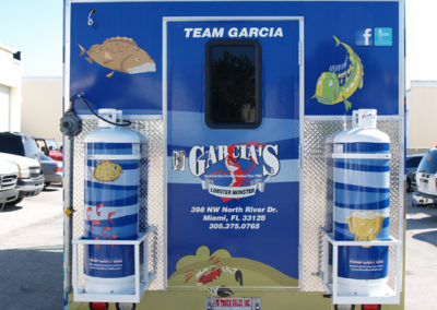 Signs & Stripes Food Truck Wraps Garcia's Lobster Monster