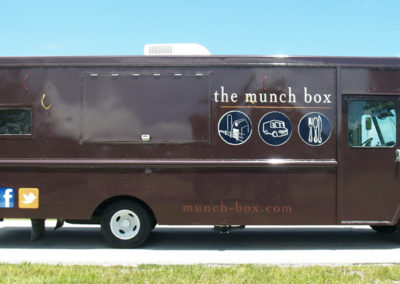 Signs & Stripes Food Truck Wraps The Munch Box