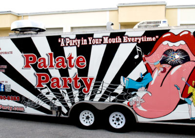 Signs & Stripes Food Truck Wraps Palate Party