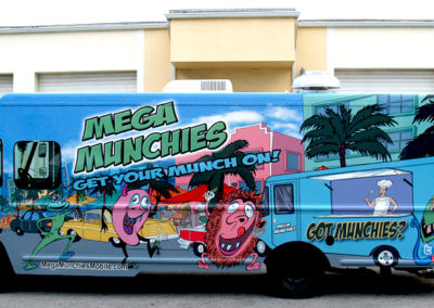 Signs & Stripes Food Truck Wraps Mega Munchies