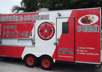 Signs & Stripes Food Truck Wraps Peruvian & Puerto Rican Cuisine