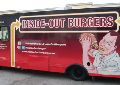 Signs & Stripes Food Truck Wraps Inside-Out Burger