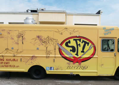 Signs & Stripes Food Truck Wraps Slow Food Truck SFT