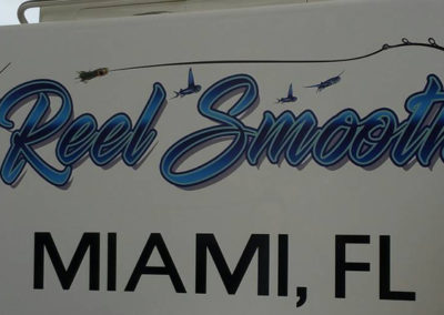 Signs & Stripes Custom Boat Name Reel Smooth