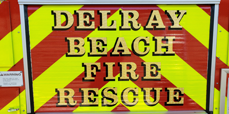 Signs & Stripes Fleet Wrap for Delray Beach Fire Department