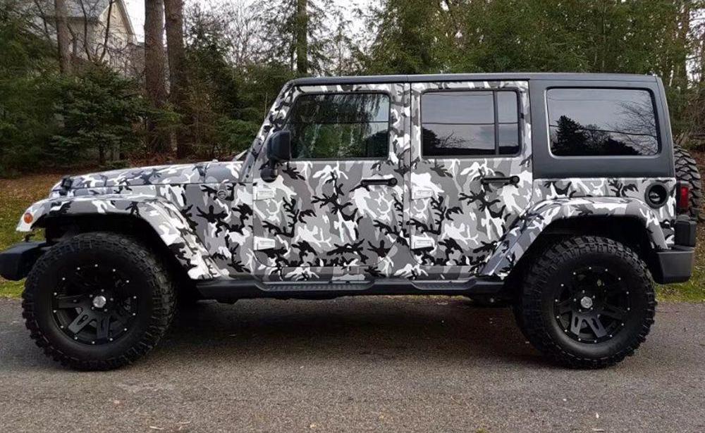 Jeep Camo Wraps